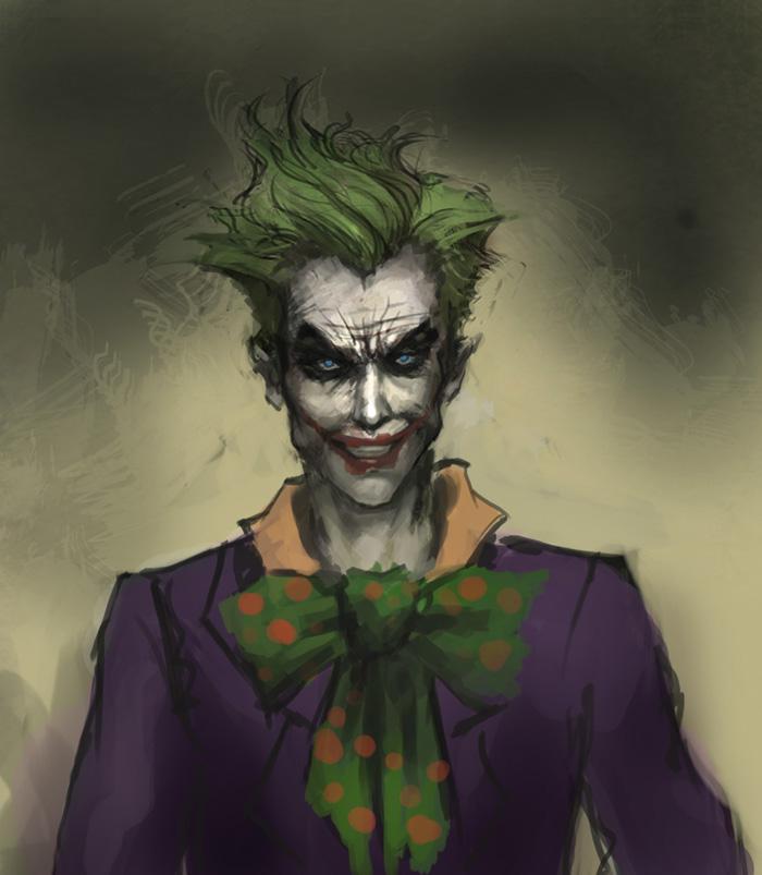 700x803 How To Draw Joker