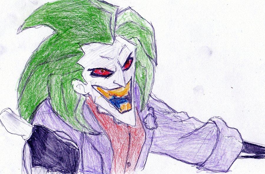 900x591 The Batman Joker By Luiganddaisy