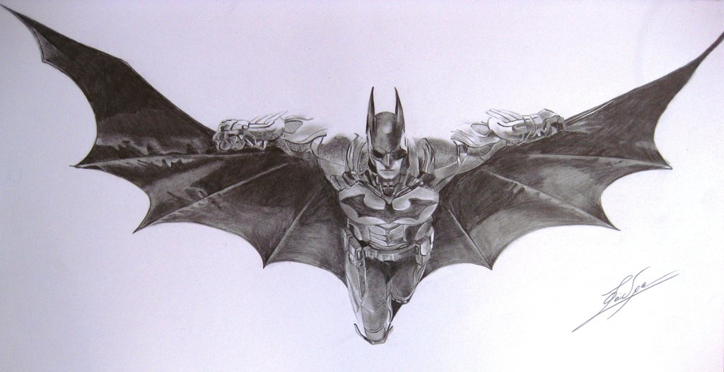 1024x526 Arkham Knight Batman By Bio Girl91 On DeviantArt