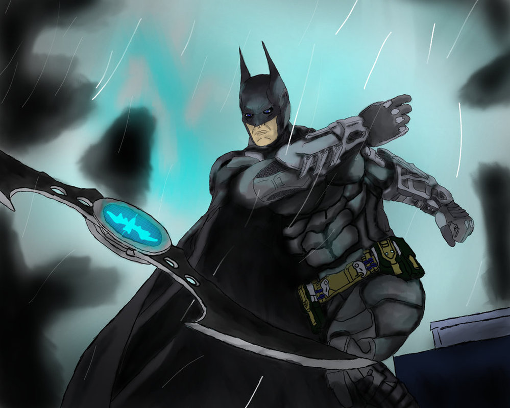 999x799 Batman Arkham Knight New Suit By Animedudevid