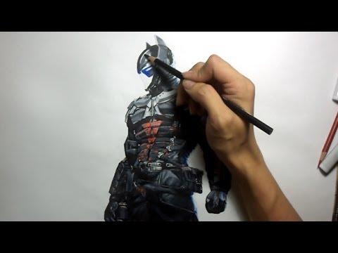 480x360 Batman Arkham Knight Arkham Knight Drawing