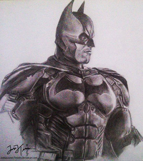 600x673 Batman Arkham Origins By Joshuajamestimothy