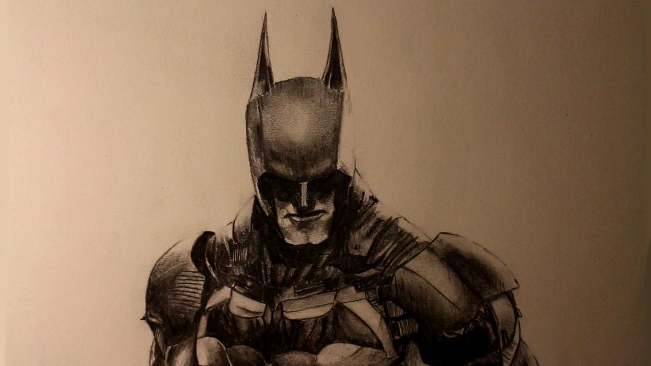 1280x720 How To Draw Batman From Batman Arkham Knight