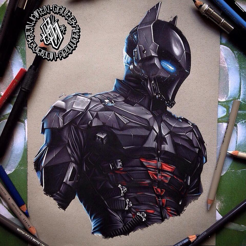 960x960 Batman Arkham Knight, Benjamin Davis On Artstation