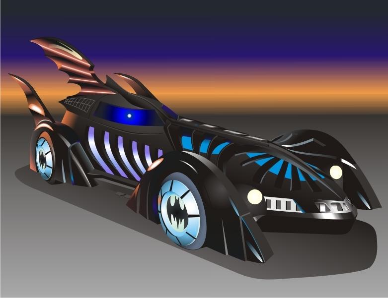 781x601 Batman Forever Batmobile