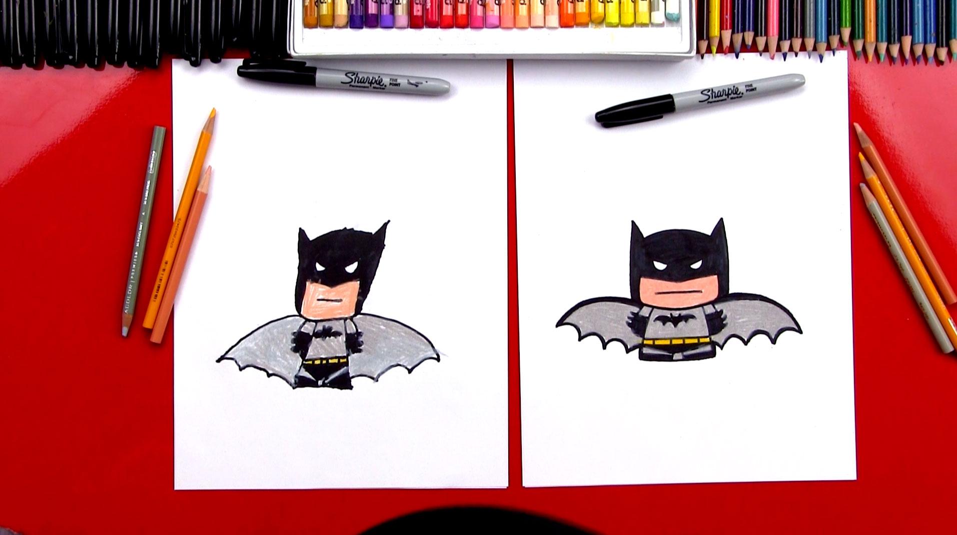 1913x1070 How To Draw Cartoon Batman