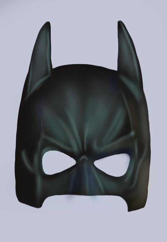 550x800 Learn How To Draw Batman Mask (Batman) Step By Step Drawing