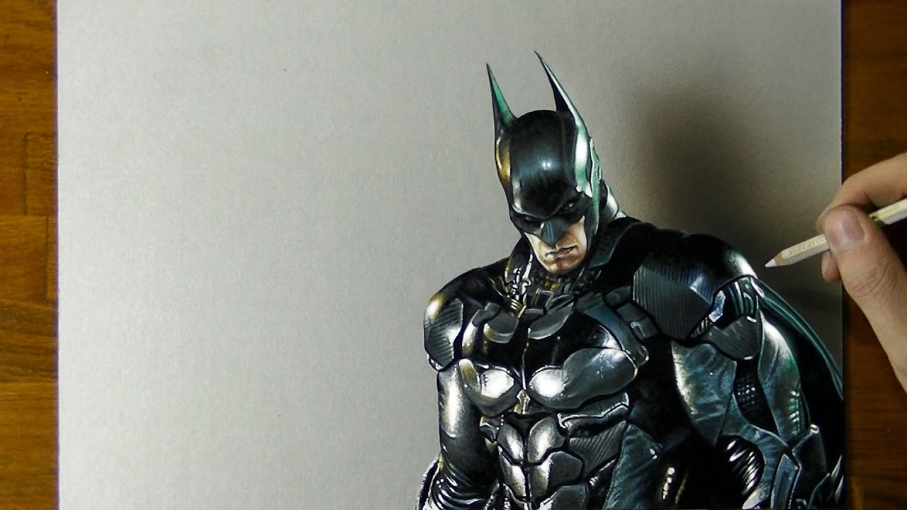1280x720 Batman Drawing