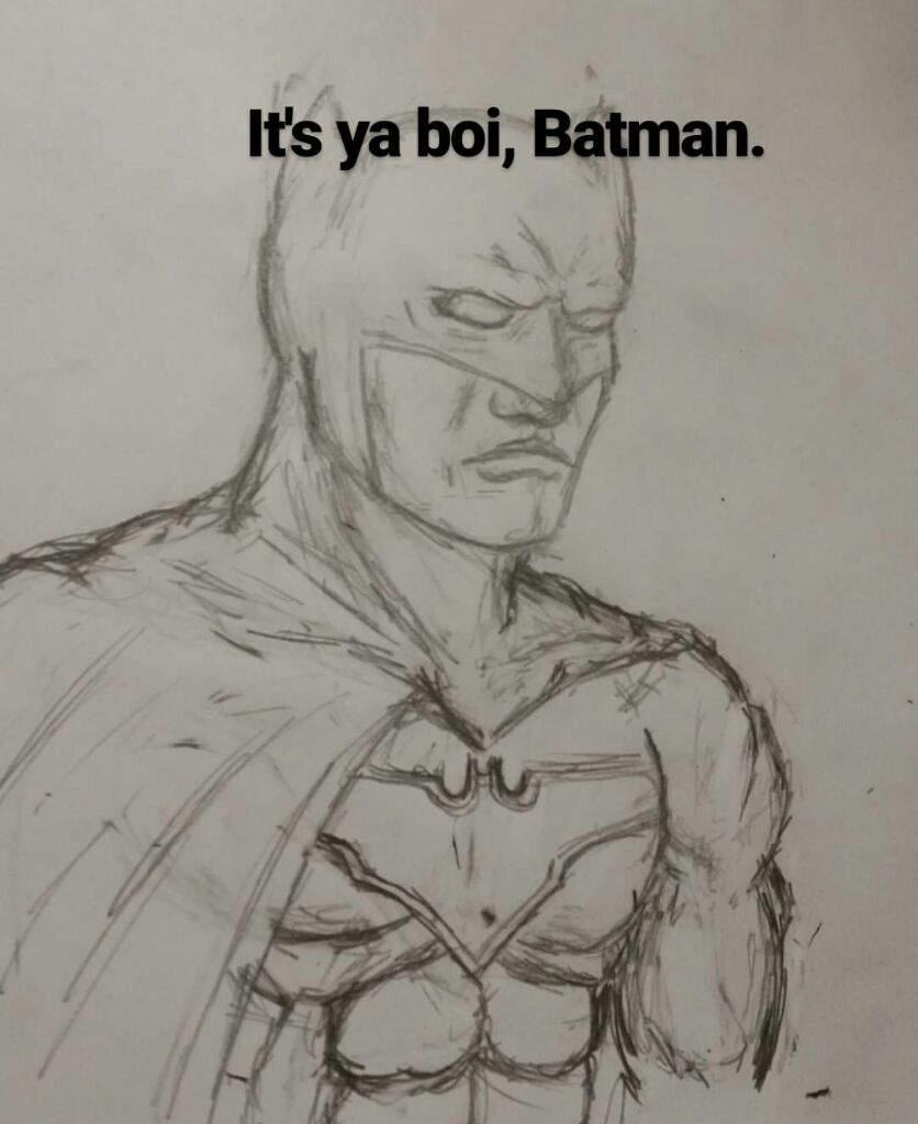 836x1024 Batman Drawing DC Entertainment Amino