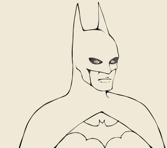 Batman Drawing At Getdrawings Com Free For Personal Use Batman