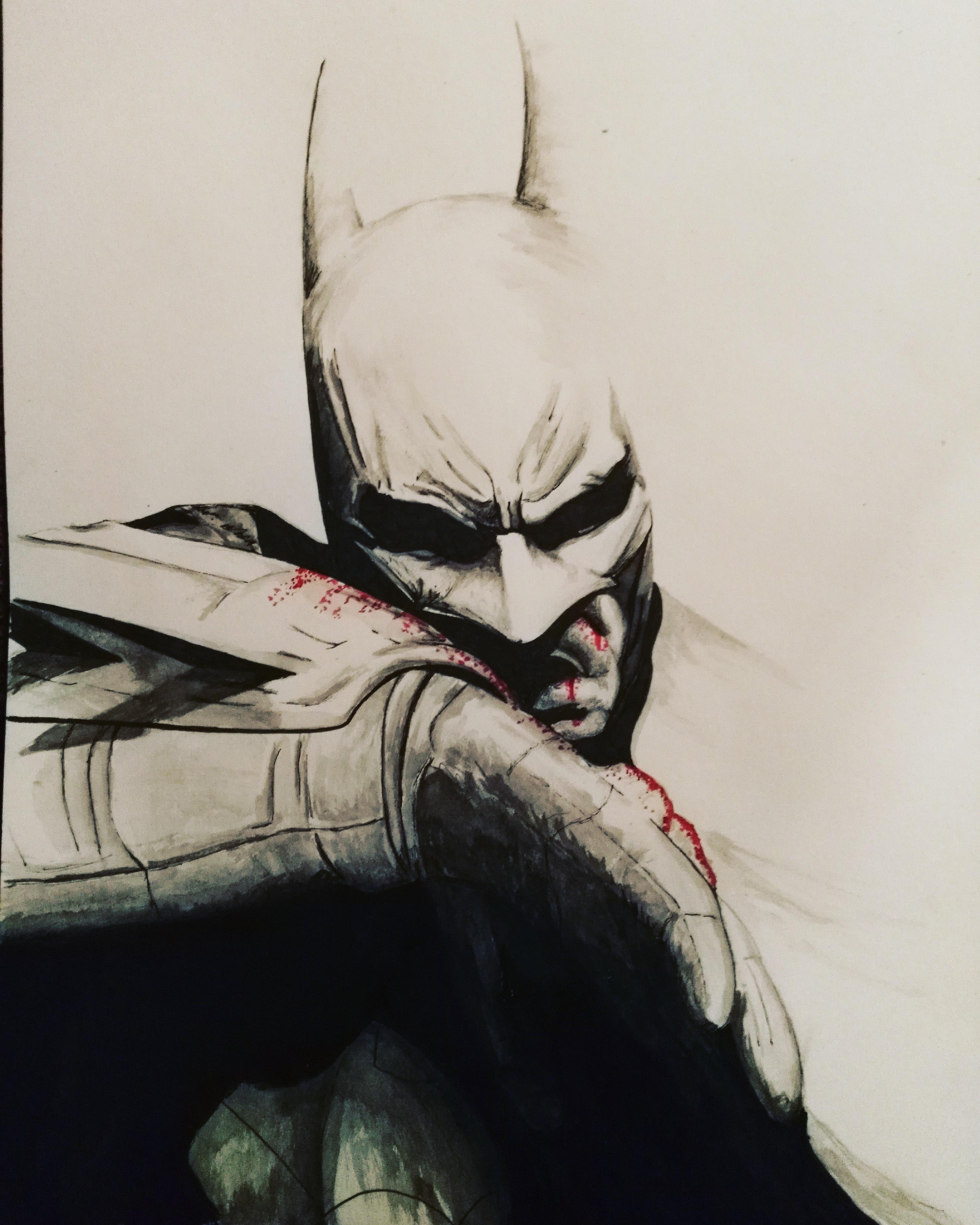 3120x3900 I thought id post a batman drawing I did batman