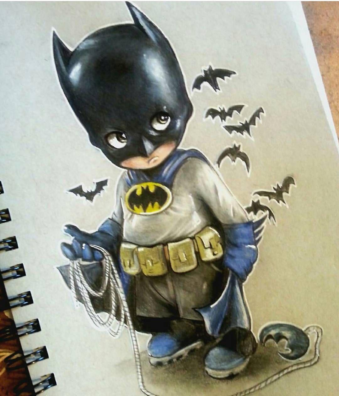 1080x1260 Lil Batman drawing by Manuela Lai tả Pinterest Batman