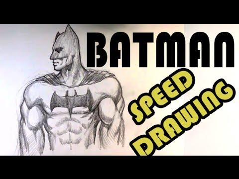 480x360 Drawing Batman
