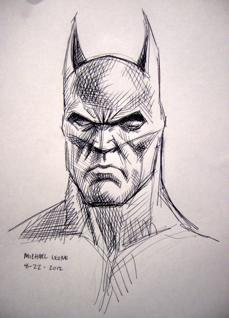 738x1024 Batman Face Drawings In Pencil Images About Cross Hatch Art
