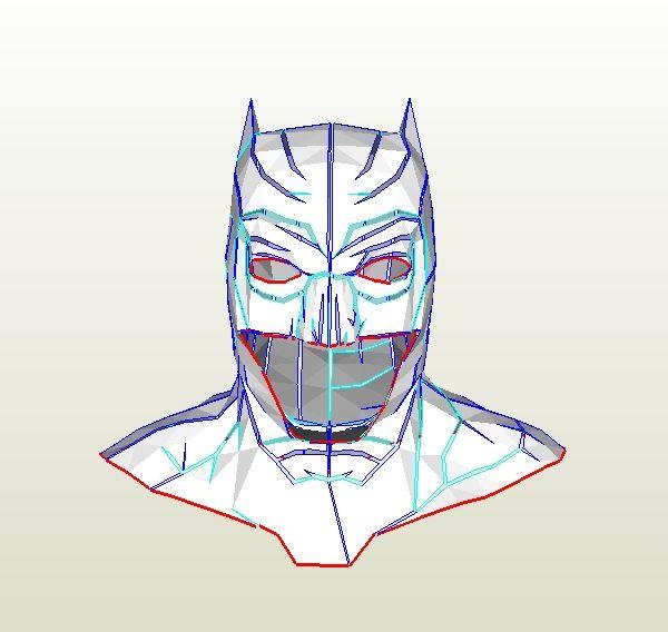 Batman Mask Template   Batman Mask Drawing At Getdrawings Com Free For Personal Use