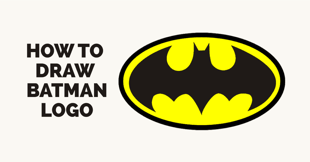 1200x628 Gallery Draw Batman Logo,