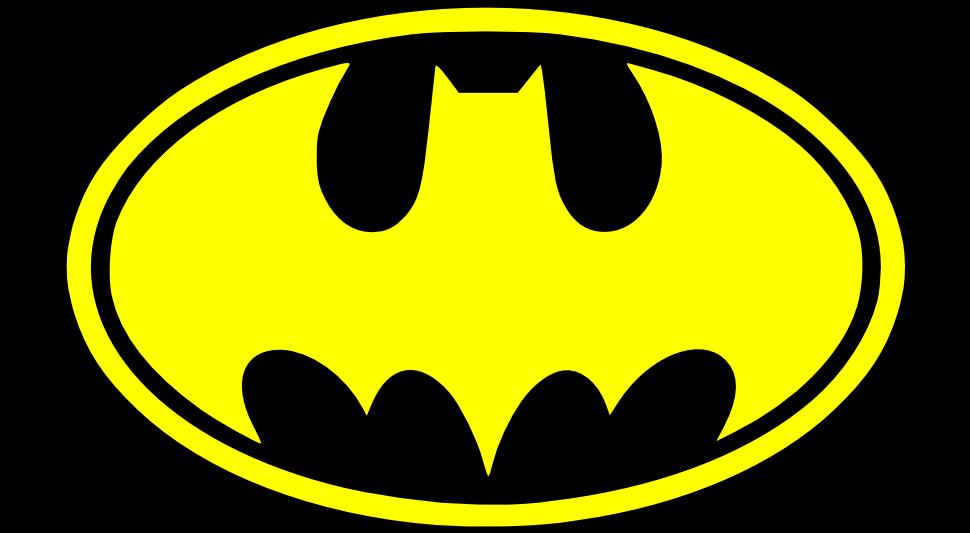 970x533 Batman Symbol Clipart