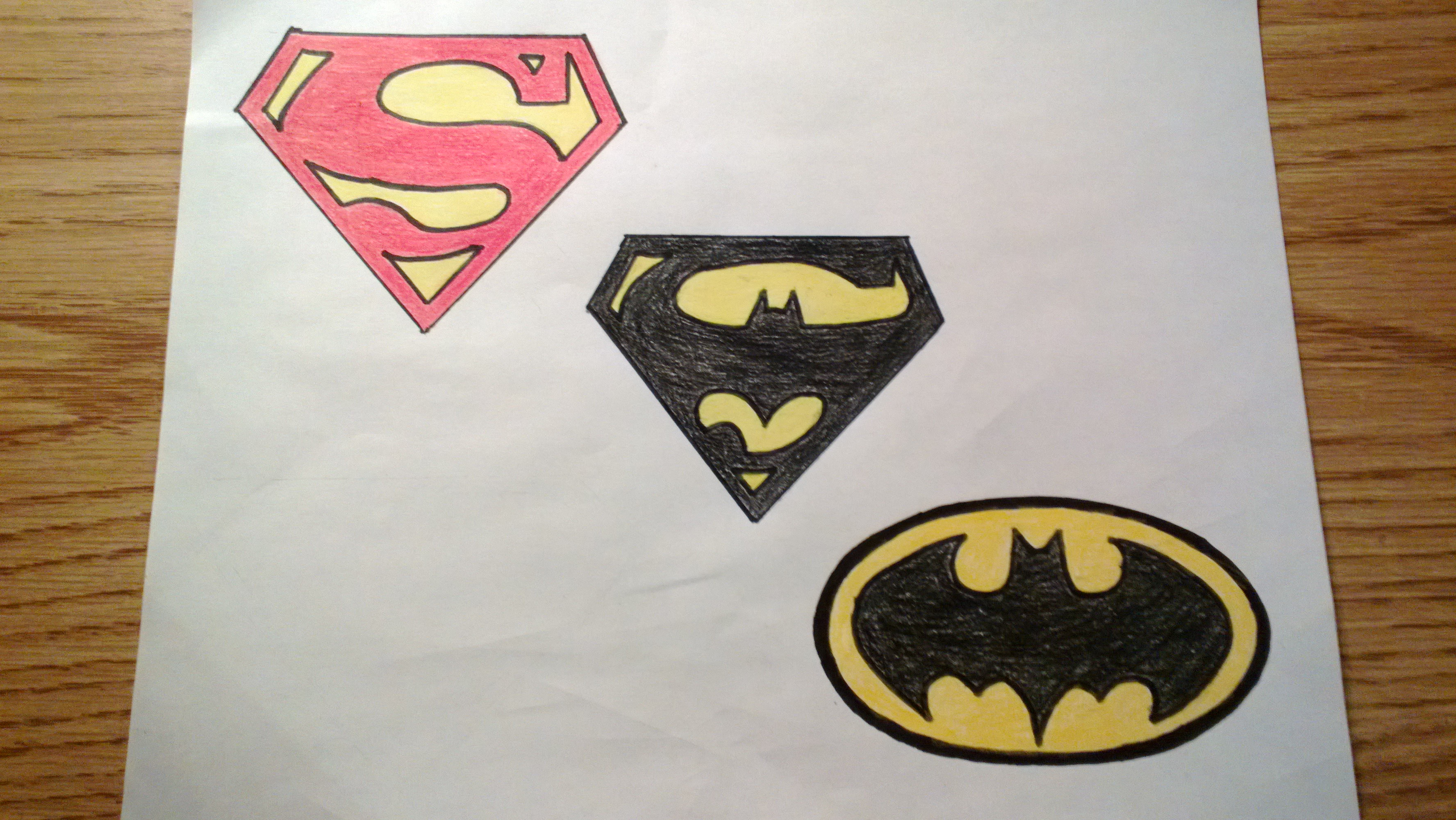 Batman Symbol Drawing Step By Step At Getdrawings Free For
