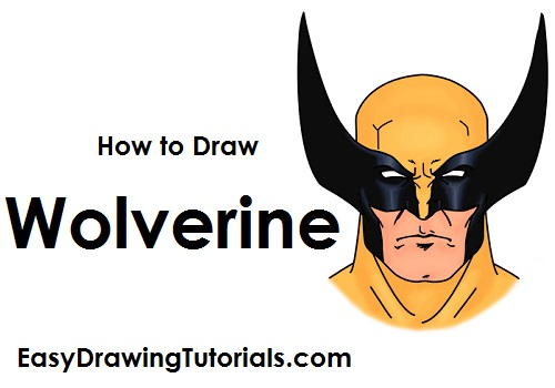 500x350 How To Draw Wolverine