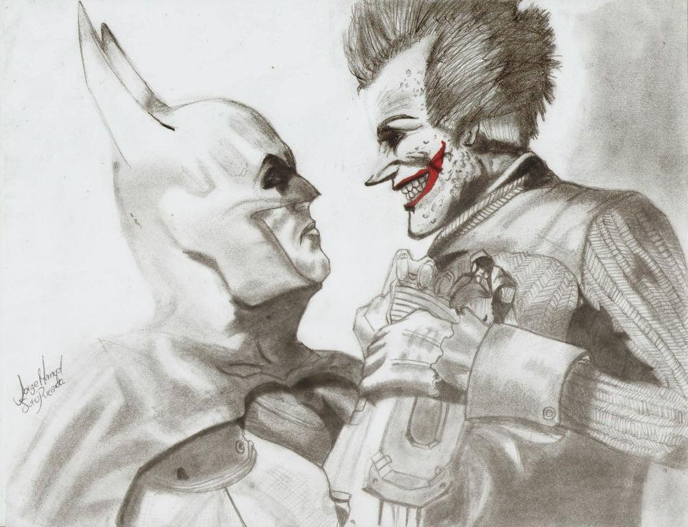 1003x768 Batman Vs Joker Jorge Soto