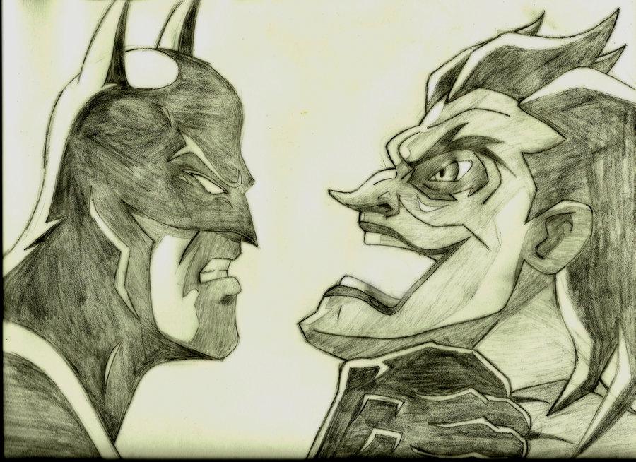 900x654 Batman Vs Joker By El Fox