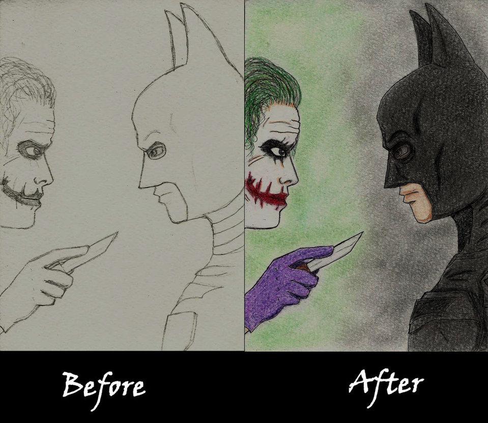959x832 Batman Vs Joker By Thefourthel