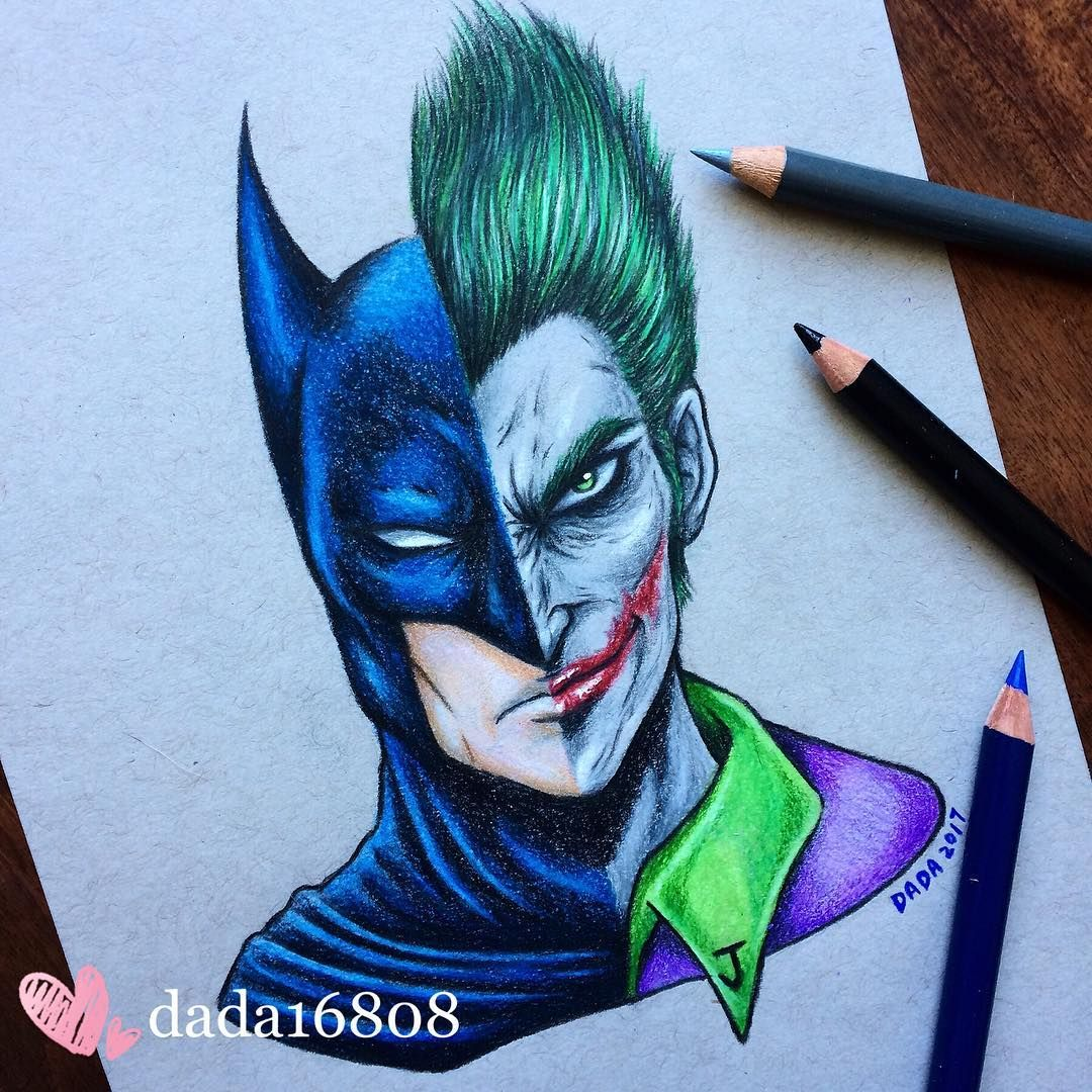 1080x1080 Batman Vs Joker Original Available