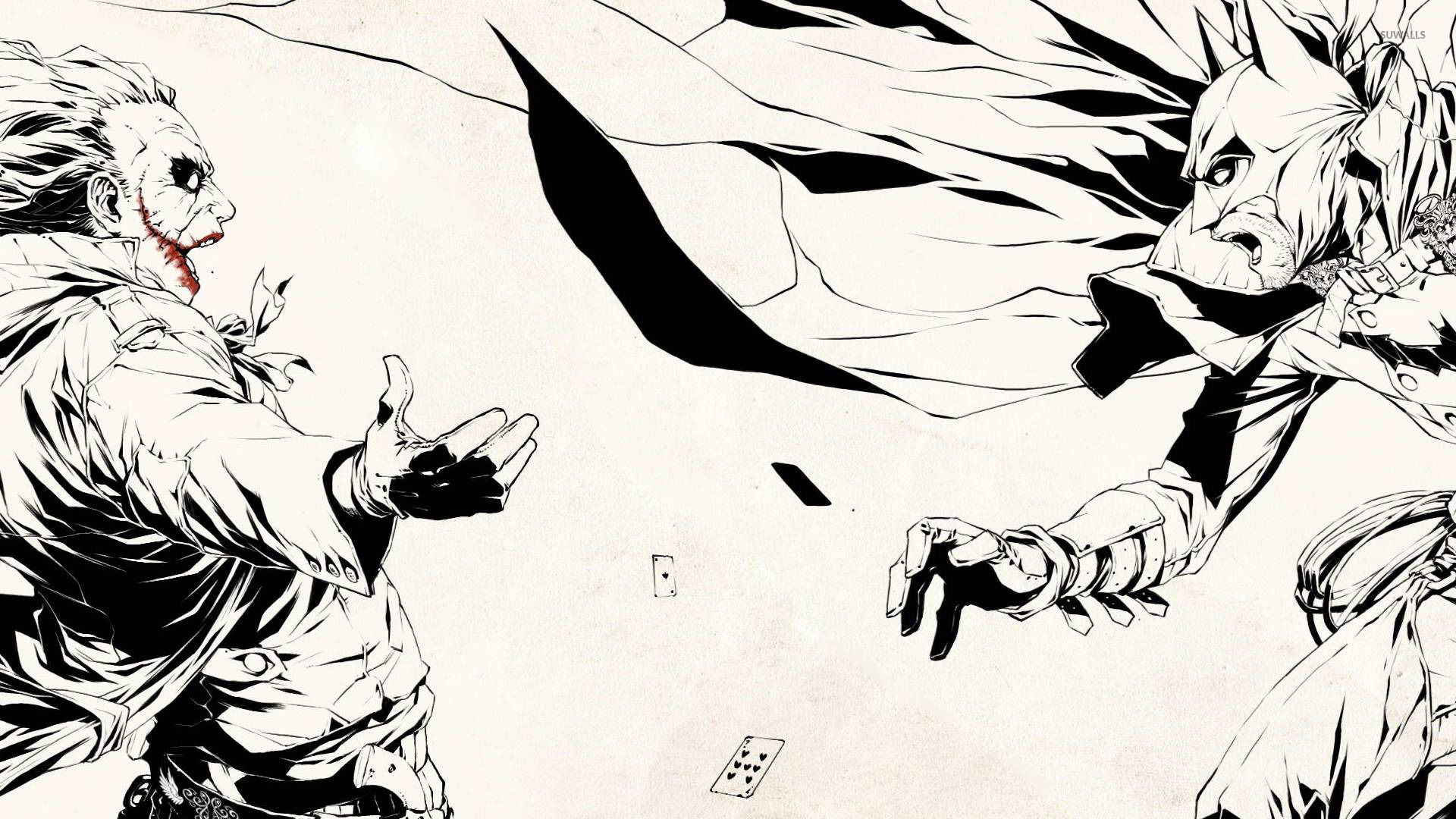 1920x1080 Batman Vs Joker Wallpaper