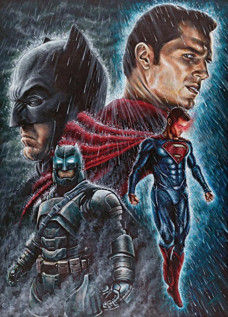 759x1053 Batman Vs Superman. By Jonarton