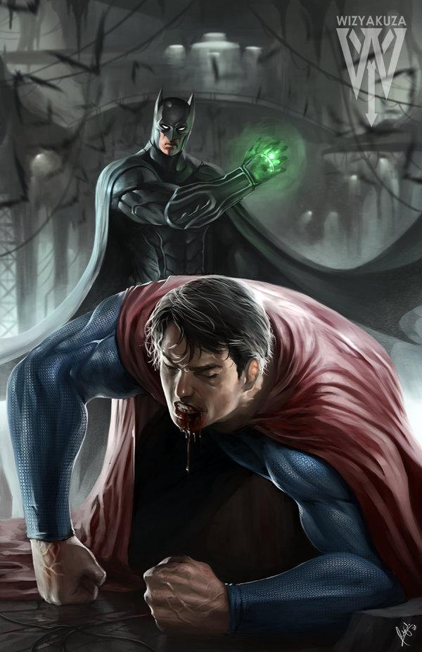 600x927 Batman Vs Superman By Wizyakuza
