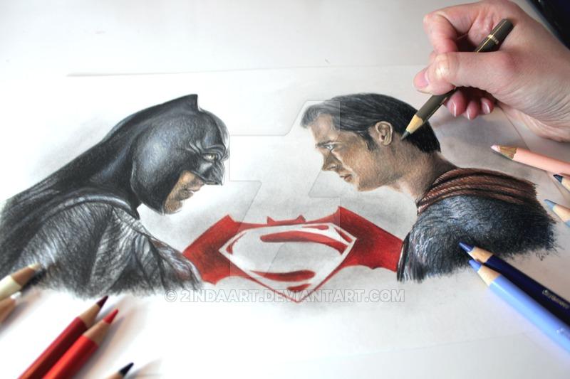 800x533 Batman Vs Superman Drawing By 2indaart