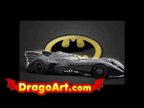 480x360 How To Draw The Batmobile, Step By Step