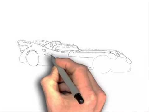 480x360 How To Draw Batman Batmobile