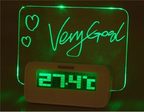 500x387 Novelty Batteries Amp Usb Powered Decorate Green Backlight Desk