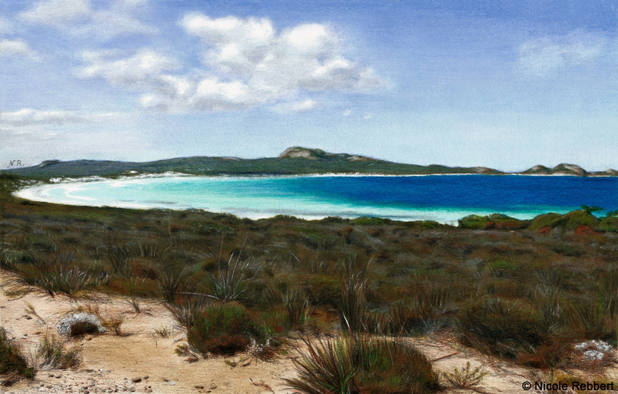 900x574 Lucky Bay (Drawing) By Quelchii