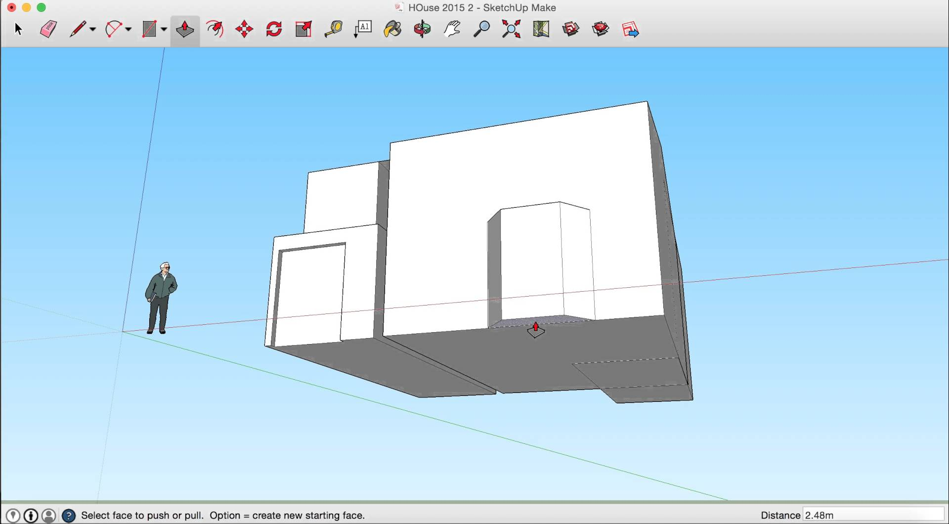 1920x1060 Sketchup House Tutorial 4 Drawing A Bay Window