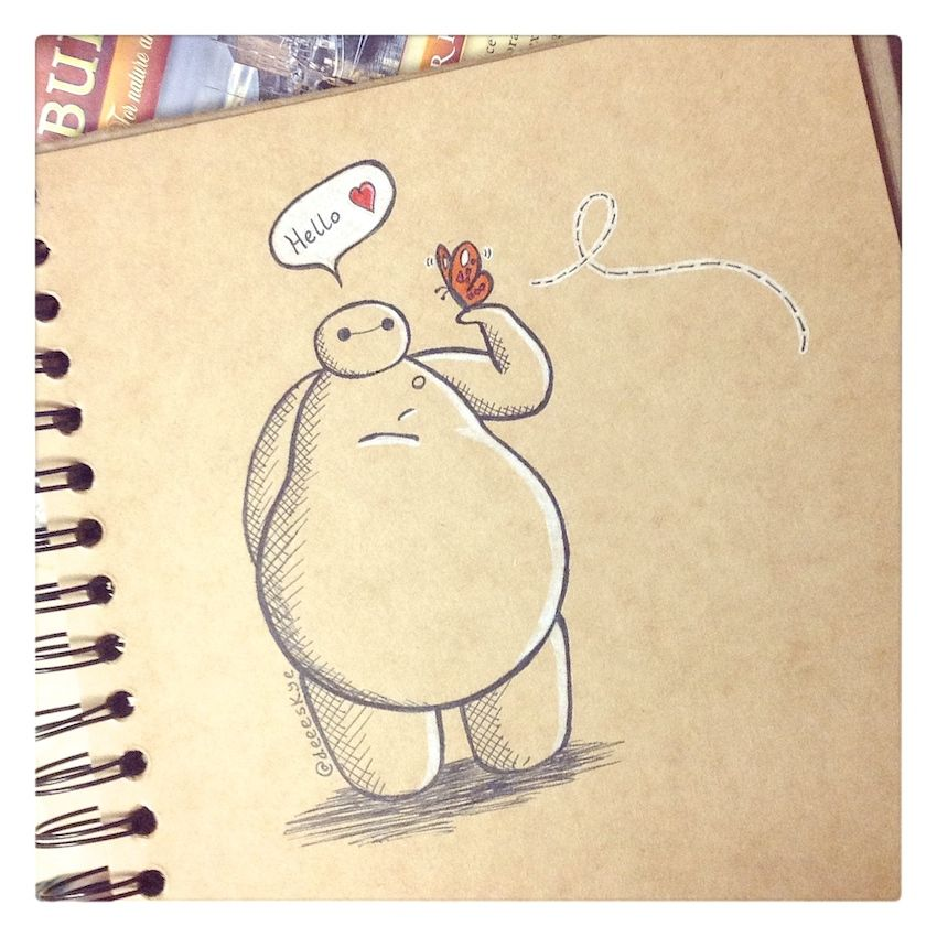 850x850 Pin By On Fan Art. Bh6 Baymax, Butterfly