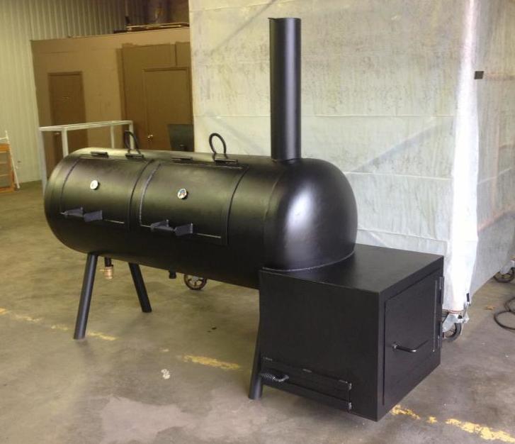 727x626 Custom Bbq Smokers Custom Bbq Pits Fire Pits Bbq Trailers