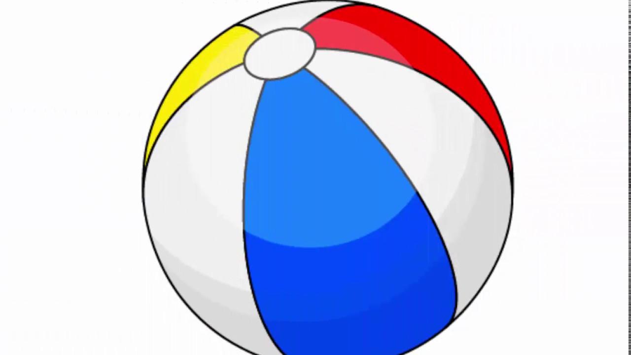 Beach Ball Drawing at GetDrawings | Free download