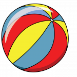 150x150 How To Draw A Beach Ball, Sea, Sports, Easy Step By Step Drawing