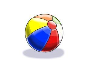 300x200 How To Draw A Beach Ball