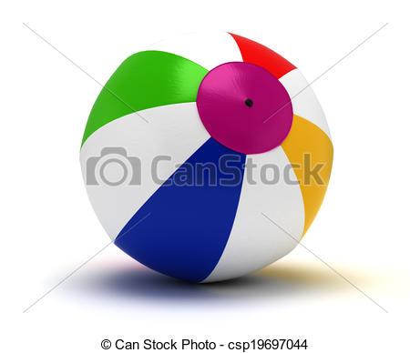 450x388 Single Beach Ball Drawing