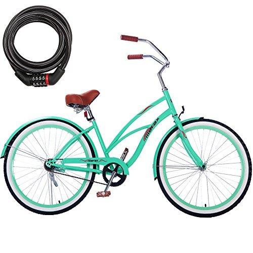 500x500 26 Inch Classic Bicycle 21 Speed Coaster Brake Steel Frame Beach