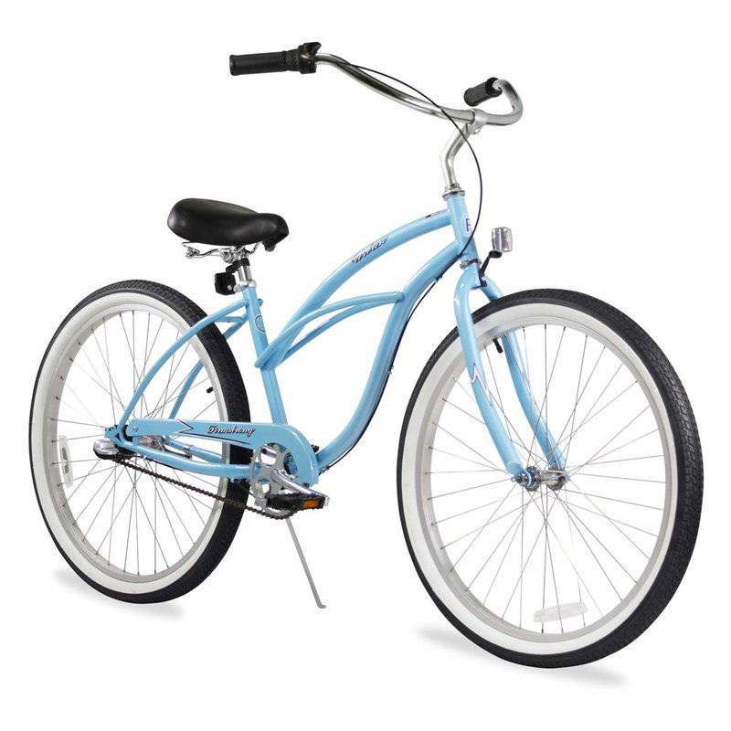 800x800 Firmstrong Urban Lady 26 In. 3 Speed Beach Cruiser Bicycle