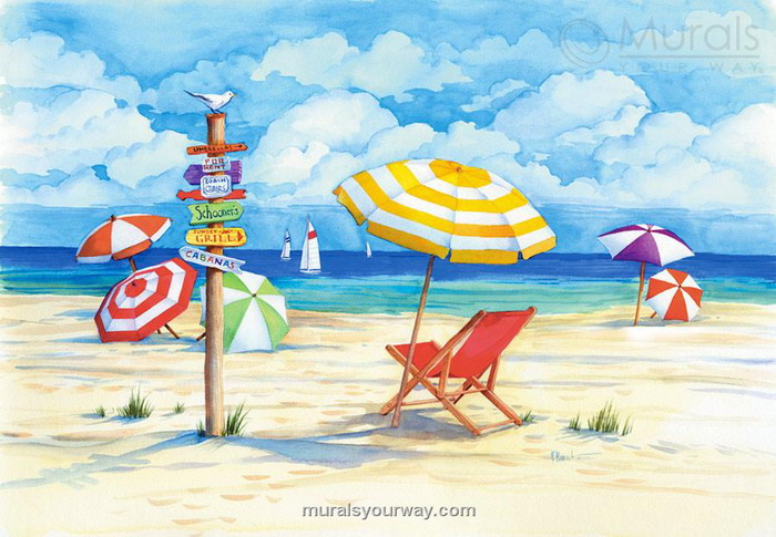 Beach Drawing Ideas at GetDrawings.com | Free for personal use Beach ...