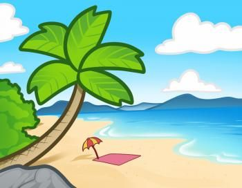 350x272 How To Draw A Beach For Kids Drawing Ideas For Kids