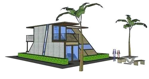 500x265 easy house drawings beach house drawing easy treehouse drawings - Beach House Drawings