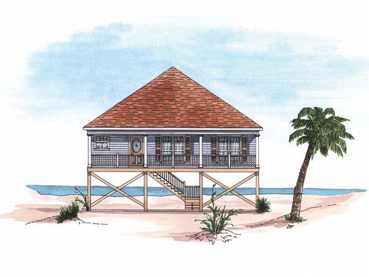 736x552 plan 017h 0001 736x552 plan 017h 0001 400x400 unusual 10 beach house drawings - Beach House Drawings