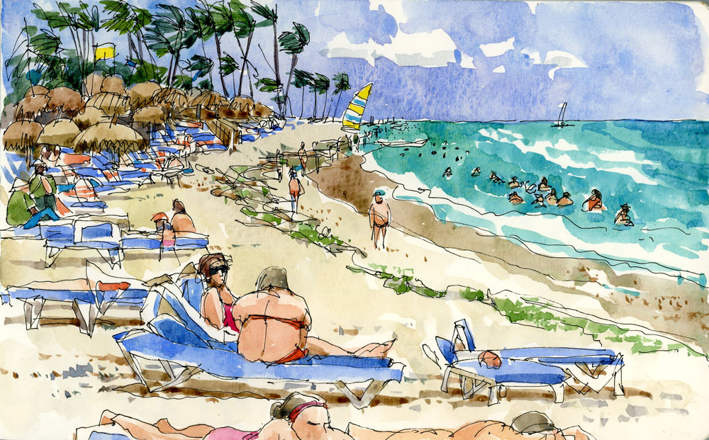 1000x621 The Real Beach The Sketchbook