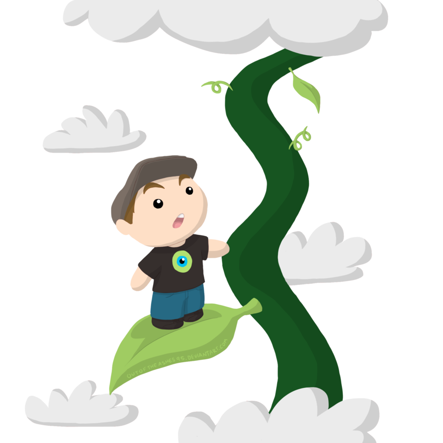 894x894 Jack And The Beanstalk By Outoftheashes95